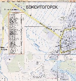 Map of Boksitogorsk